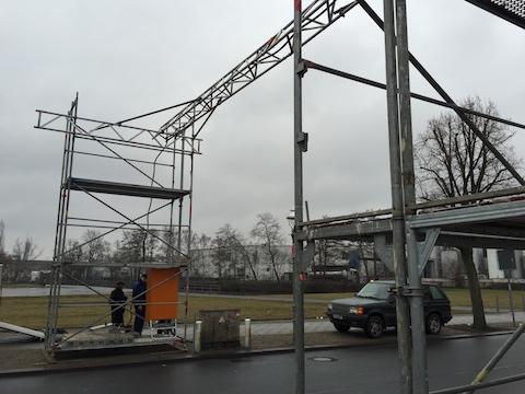 Kabelbrücke Berlin mieten - Baustrom